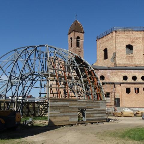 Budowa kościoła - 2015