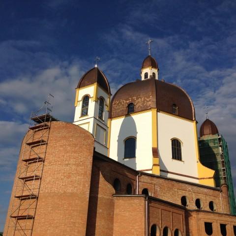 Budowa kościoła - 2017