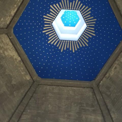 Budowa kościoła - 2019 (rozpoczęto prace wykończeniowe wnętrza świątyni)