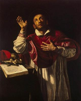 Orazio Borgianni, San Carlo Borromeo